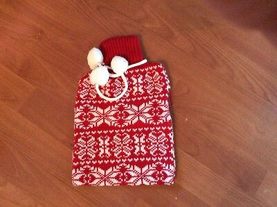 Pretty festive hot water bottle cover from NEXT