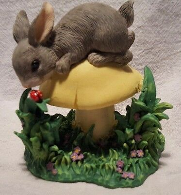 King of the Mushroom ~ Charming Tails ~ 89/318 (Fitz & Floyd Collectibles)