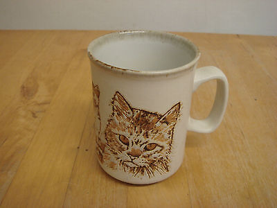 Dunoon mug with cats