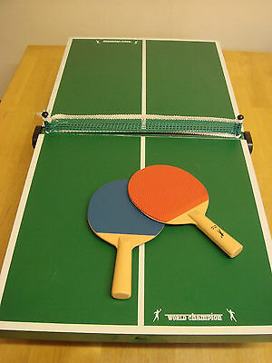 World Champion, Indoor Table Top Mini Table Tennis Kit