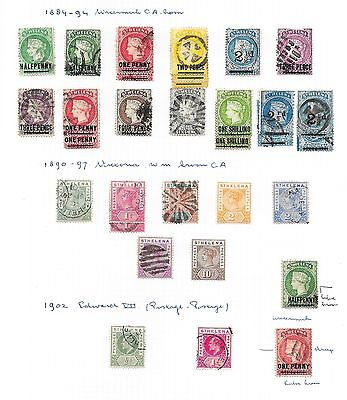 St Helena stamps 1884 Collection of 32 CLASSIC stamps  HIGH VALUE!