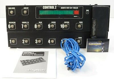 DigiTech Control 2 Foot Controller for GSP1101
