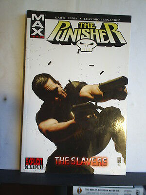 GRAPHIC NOVEL: THE PUNISHER - THE SLAVERS - Paperback 2006 1st print