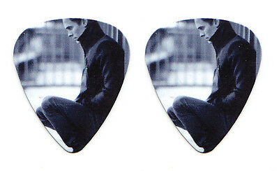 30 Thirty Seconds To Mars Jared Leto B&W Photo Promo Guitar Pick - 30STM