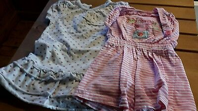 Girls dress and sunsuit 12-18 months peppa pig