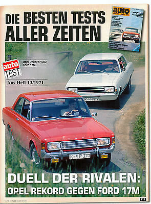 Ford 17M P7 - Opel Rekord C 1700
