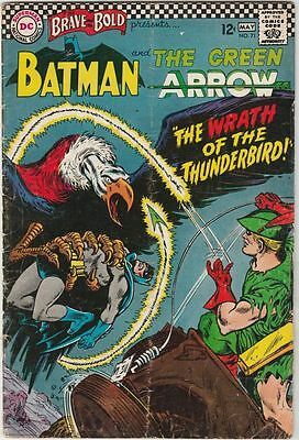 Brave and the Bold #71 The Batman Green Arrow strict VG+ 4.5 50% Off Sale Now