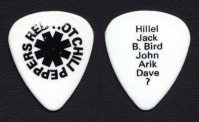 Red Hot Chili Peppers Dave Navarro Concert-Used Guitar Pick - 1997 Tour RHCP
