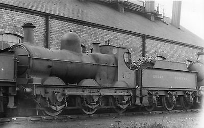 """Photo GWR """"2301"""" Class 0-6-0 No 2378 at unknown shed yard c1930s"""