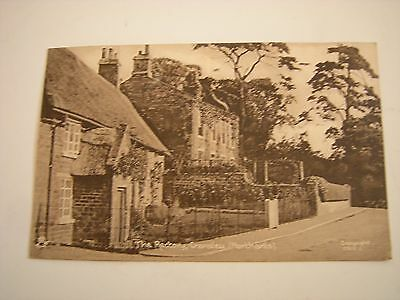 The Rectory Cransley Northants Tuck's Sepia Postcard Ex Condition