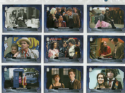 Topps 2015 Dr Doctor Who  -  Lot of 36 chase cards NM Topps 2015