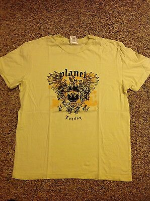 Planet Hollywood T-shirt London size XL heavy 100% cotton