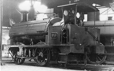 Photo GWR 0-4-0T No 96 at Wolverhampton Stafford Rd shed c1924