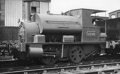 Photo GWR 0-4-0T No 1340 at unknown location