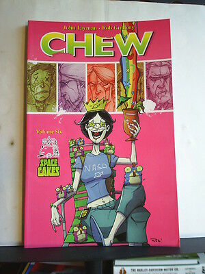 GRAPHIC NOVEL: CHEW - VOLUME 6: SPACE CAKES  - Paperback 2012 1st print