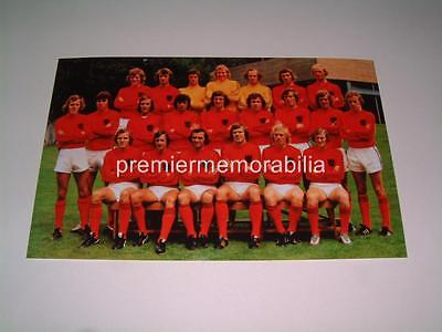 Holland Netherlands 1974 World Cup Finals Squad Johan Cruijff Neeskens Rep Krol