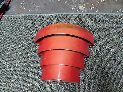 Vintage Art Deco Metal Tiered Wall Light