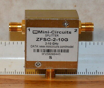 Mini-Circuits ZFSC-2-10G Coaxial Power Splitter / Combiner 2-10 Ghz
