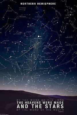 A1Star Constellations Poster Art Print 60 x 90cm 180gsm Astronomy Gift #8302