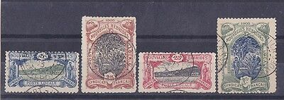 NEW HEBRIDES FRENCH 1903 Syndicat Francais set VERY SCARCE LOCAL POST !