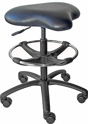 Heavy Duty Drafting Chair Stool Workbench Lab Laboratory Rated 350lb