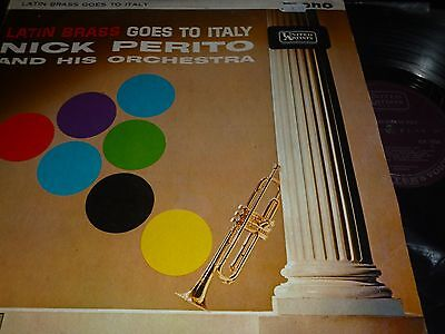 NICK PERITO & His Orchestra Latin Brass goes to Italy Vinyl LP United Artists