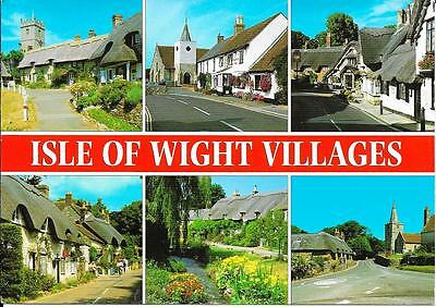 Isle of Wight Villages - Posted Postcard