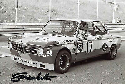 Sepp Manhalter Alpina  BMW 2002 Top Foto 10x15