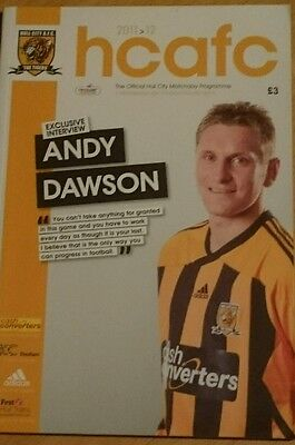 Hull City v Middlesbrough, Championship season 2011-12 on 09/04/2012 Programme