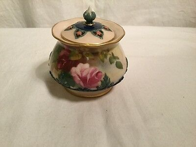 Royal worcester hand painted potourri 1910