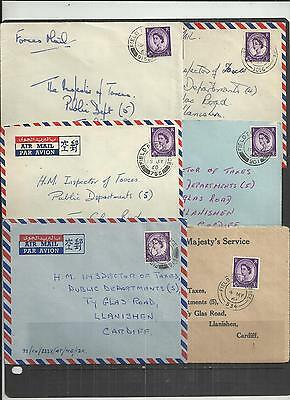 (W224) British FPO-BFPO Covers x6