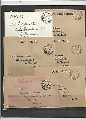 (W228) British FPO-BFPO Covers x6
