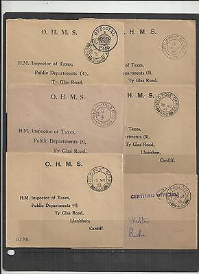 (W225) British FPO-BFPO Covers x6