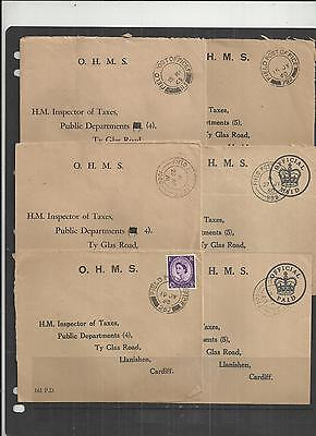 (W229) British FPO-BFPO Covers x6