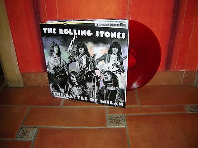 The Rolling Stones - The Battle Of Milan Tour 2Lp Ultrarare & Great Collector