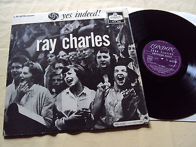 Ray Charles - Yes Indeed! - LONDON/Atlantic Records - Ex- Condition -R&B/Soul