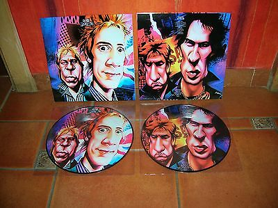 """Sex Pistols - 10"""" Anarchy In The Uk Ultrarare & Great Picture Disc Collector !!!"""