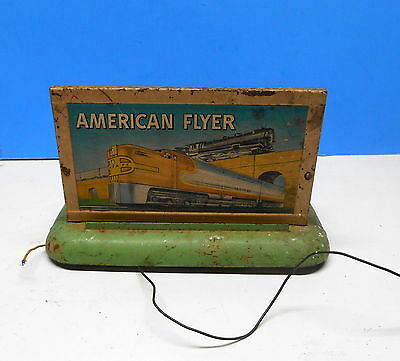 American Flyer S Gauge Whistling Billboard.