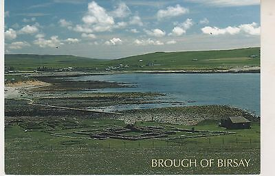 Orkney. Brough of Birsay. Modern postcard in  GC. Written but no postmark