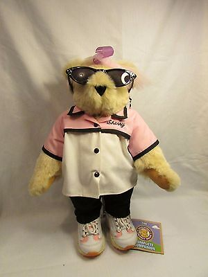 """Complete Companion THE VERMONT TEDDY BEAR~ Sherry the Beautician 17""""~GREAT ACCES"""