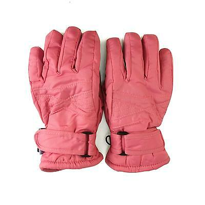 Girls 2-4 Thinsulate 3M Water Proof Resistant Liner Ski Snow Full Gloves Pink