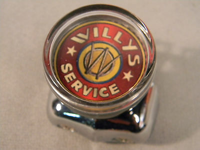 Willys Service Suicide Steering Wheel Spinner Knob