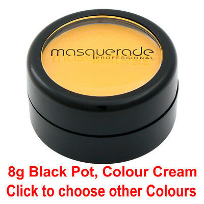Body Paint, Colour Cream, Black Pot (Halloween & Zombie Walk Colours)
