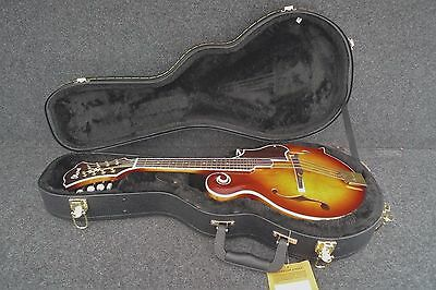 Ibanez M700S-Avs F Style Arch Top Solid Body Mandolin Antique Sunburst & Case.