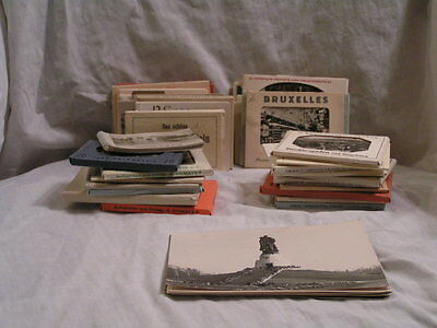 One Lot Of 37 European Photos Packets