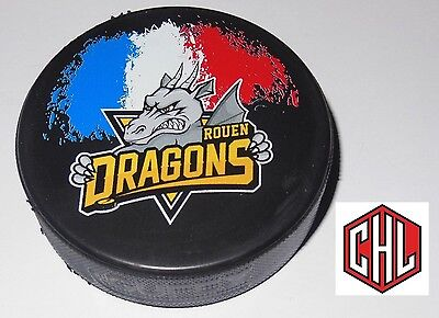 France ROUEN DRAGONS  IIHF OFFICIAL PUCK CHL CHAMPIONS HOCKEY LEAGUE 2016