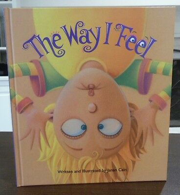 Discovery Toys The Way I Feel Hardback Book All about Feelings