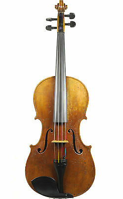 Interesting and beautiful 19th century Viennese viola             (old, antique