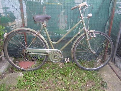 BIANCHI OLD WOMAN BICYCLE YEARS 50s HIGH QUALITY COMPONENTS BICI BIANCHI DONNA