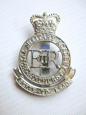 British Army Force Military Staybrite Cap Badge Royal Military Academy Sandhurst